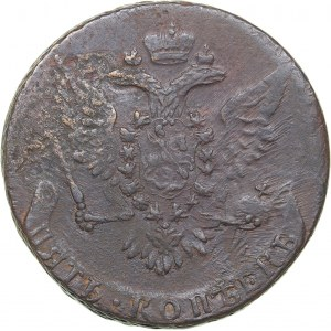 Russia 5 kopecks 1759