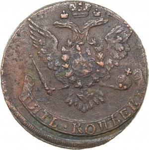 Russia 5 kopecks 1760