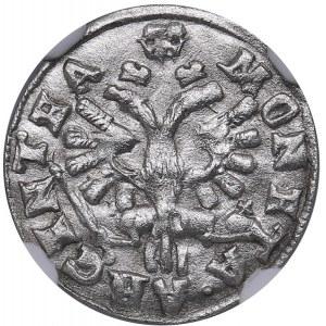 Russia - Prussia Groschen 1760 - NGC UNC Details