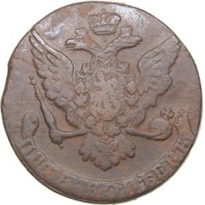 Russia 5 kopecks 1762