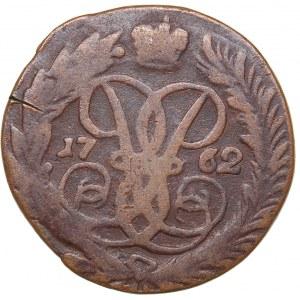 Russia 2 kopecks 1762