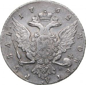 Russia Rouble 1762 СПБ-НК