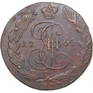 Russia 5 kopecks 1764 ЕМ