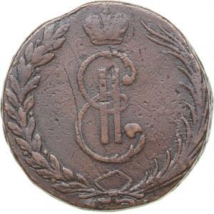 Russia - Siberia 10 kopecks 1766