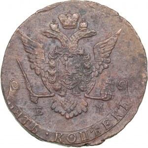 Russia 5 kopecks 1773 ЕМ