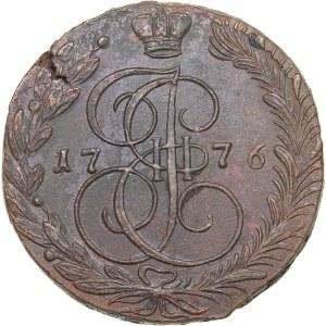 Russia 5 kopecks 1776 ЕМ