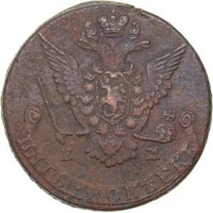 Russia 5 kopecks 1777 ЕМ