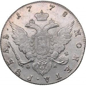 Russia Rouble 1778 СПБ-ФЛ