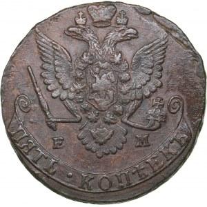Russia 5 kopecks 1779 ЕМ