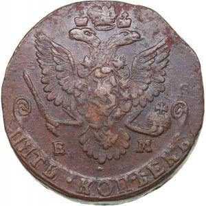 Russia 5 kopecks 1780 ЕМ