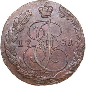 Russia 5 kopecks 1781 ЕМ
