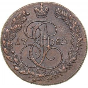 Russia 5 kopecks 1782 КМ