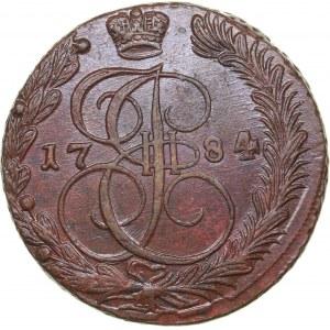 Russia 5 kopecks 1784 ЕМ