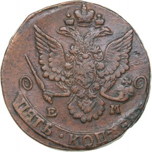 Russia 5 kopecks 1785 ЕМ