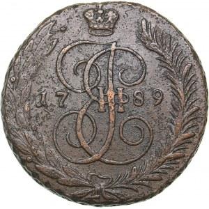 Russia 5 kopecks 1789 АМ
