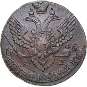 Russia 5 kopecks 1791 ЕМ