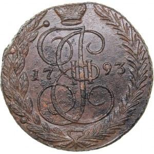 Russia 5 kopecks 1793 ЕМ