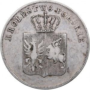 Russia - Poland Uprising 1830-1831 5 zlotykh 1831 KG