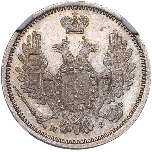 Russia 10 kopeks 1855 СПБ-НI - NGC MS 66