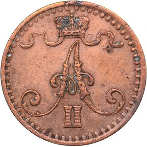 Russia - Grand Duchy of Finland 1 penni 1865