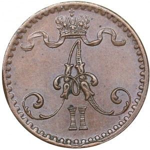 Russia - Grand Duchy of Finland 1 penni 1866