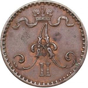 Russia - Grand Duchy of Finland 1 penni 1867