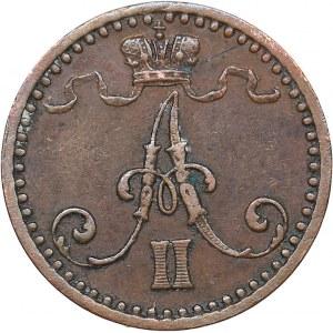Russia - Grand Duchy of Finland 1 penni 1869