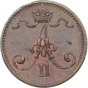 Russia - Grand Duchy of Finland 1 penni 1876
