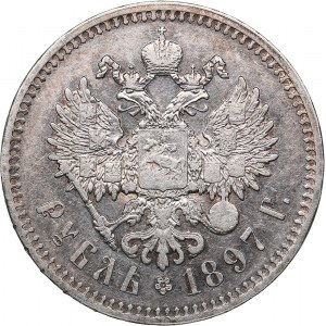 Russia Rouble 1897 **