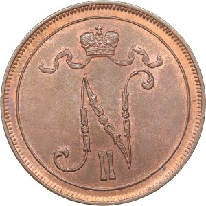 Russia - Grand Duchy of Finland 10 penniä 1905