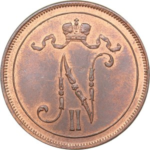 Russia - Grand Duchy of Finland 10 penniä 1908