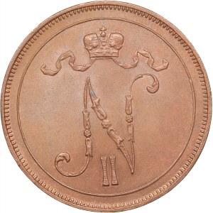 Russia - Grand Duchy of Finland 10 penniä 1913