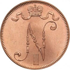 Russia - Grand Duchy of Finland 5 penniä 1913