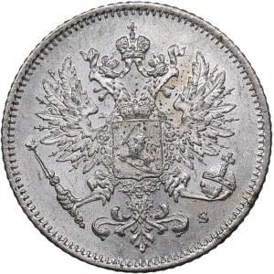 Russia - Grand Duchy of Finland 25 penniä 1915 S