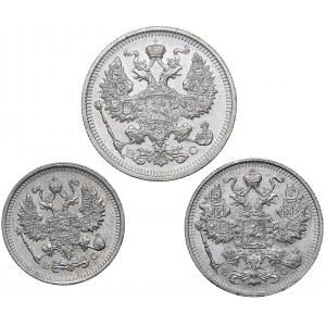 Russia 20, 15, 10 kopeks 1915 ВС (3)