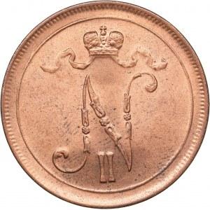 Russia - Grand Duchy of Finland 10 penniä 1916