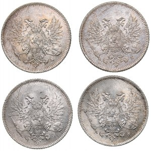 Russia - Grand Duchy of Finland 25 penniä 1917 S (4)