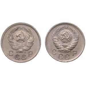 Russia - USSR 10 kopek 1935, 1938 (2)