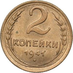 Russia - USSR 2 kopeks 1941