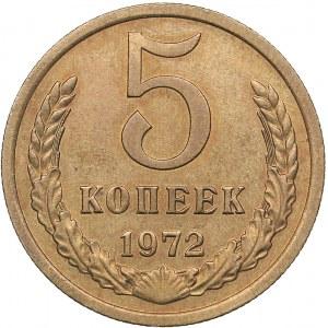 Russia - USSR 5 kopeks 1972