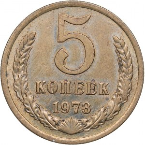 Russia - USSR 5 kopeks 1973