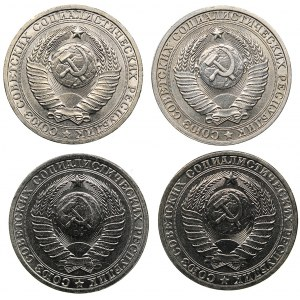 Russia - USSR Rouble 1983, 1894, 1985, 1986 (4)