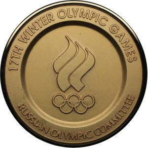 Russia Olympic committee medal - Lillehammer 1994