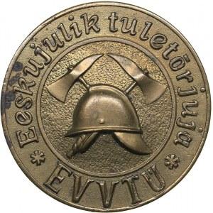 Estonia Firefighting medal - Exemplary firefighter - EVTÜ before 1940.