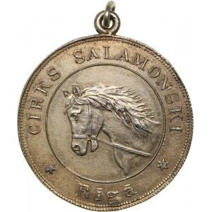 Latvia Medal of the Riga Society Cirks Salamonski, 1938