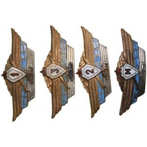 Russia - USSR badges Aviation (4)