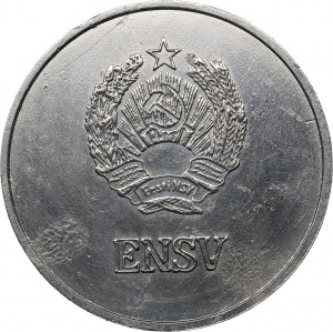 Russia - USSR medal Estonian school graduate silver medal 1985