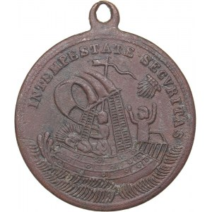 Medal - amulet for sailors of the 18th-19th centuries.