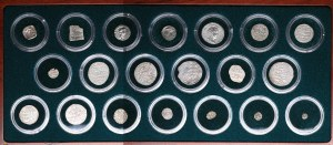 The Ancient silk road coin collection