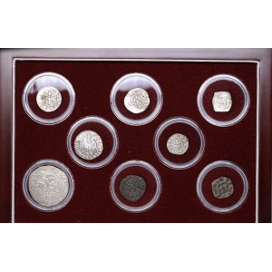 Medieval Europe 10th-15th century - 8 silver coins collection